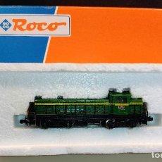 Trenes Escala: LOMOTORA DIESEL RENFE ROCO 23226 LA VALENCIANA DE RENFE NUEVA A ESTRENAR. Lote 288050903
