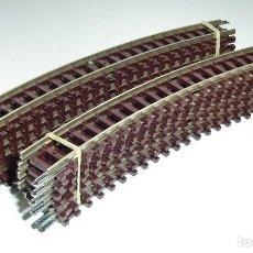 Trenes Escala: LOTE DE 12 VIAS CURVAS ROCO ESCALA N REF 22222 A ESTRENAR. Lote 289204573