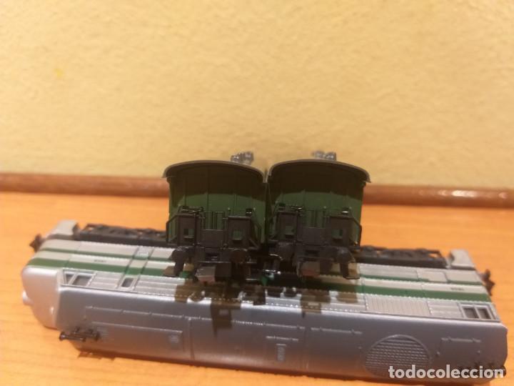 Trenes Escala: Pareja de coches de viajeros de 2 ejes. Antiguos. Marca ROCO. - Foto 15 - 289645488