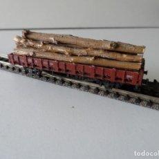 Trenes Escala: VAGON ROCO CON TRONCOS ESCALA N. Lote 289859178