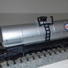 Trenes Escala: ROCO N CISTERNA 4 EJES ESSO -- L50-301 (CON COMPRA DE 5 LOTES O MAS, ENVÍO GRATIS). Lote 293631253