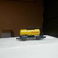 Trenes Escala: VAGÓN CISTERNA ESCALA N DE ROCO. Lote 293888713