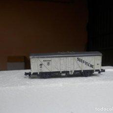 Trenes Escala: VAGÓN CERRADO ESCALA N DE ROCO. Lote 293888893