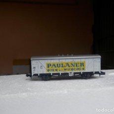 Trenes Escala: VAGÓN CERRADO ESCALA N DE ROCO. Lote 293888968
