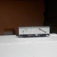 Trenes Escala: VAGÓN CERRADO ESCALA N DE ROCO. Lote 293889048