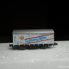 Trenes Escala: VAGÓN CERRADO ESCALA N DE ROCO. Lote 293977838
