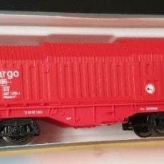 Trenes Escala: ROCO VAGON CARGO ROJO REF: 25413 LE FALTA UN STOPPER EN CAJA ORIGINAL. Lote 295828058