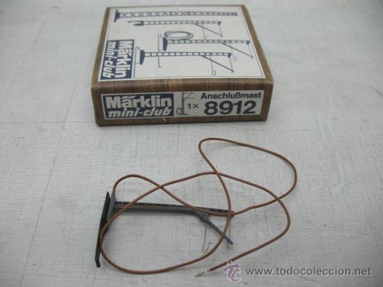 MARKLIN MINI CLUB Z -1 X 8912 OVP MÁSTIL DE LA CATENARIA (Juguetes - Trenes a Escala Z)