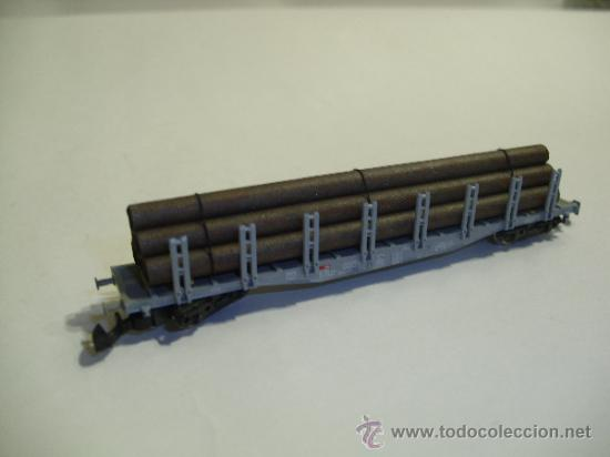 Trenes Escala: Marklin mini club Z - 86551 - vagon con tubos SPN - SBB - Foto 2 - 37947163