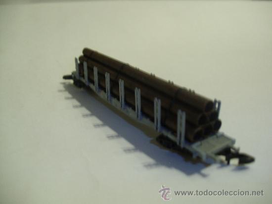 Trenes Escala: Marklin mini club Z - 86551 - vagon con tubos SPN - SBB - Foto 3 - 37947163