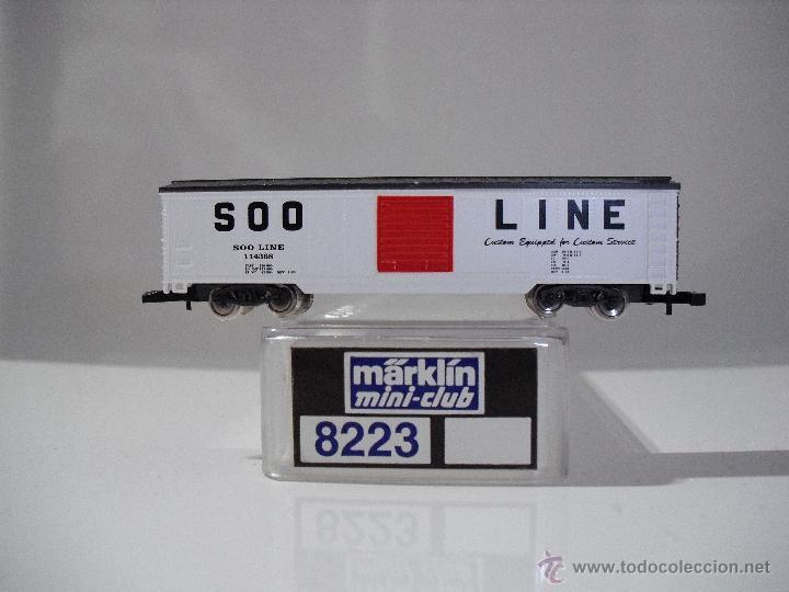 MARKLIN MINI-CLUB 8223 VAGON DE MERCANCIAS S00 LINE 114368 (NUEVO) (Juguetes - Trenes a Escala Z)