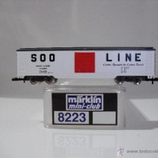 Trenes Escala: MARKLIN MINI-CLUB 8223 VAGON DE MERCANCIAS S00 LINE 114368 (NUEVO). Lote 39463068