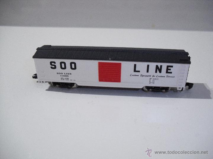 Trenes Escala: MARKLIN MINI-CLUB 8223 VAGON DE MERCANCIAS S00 LINE 114368 (NUEVO) - Foto 2 - 39463068