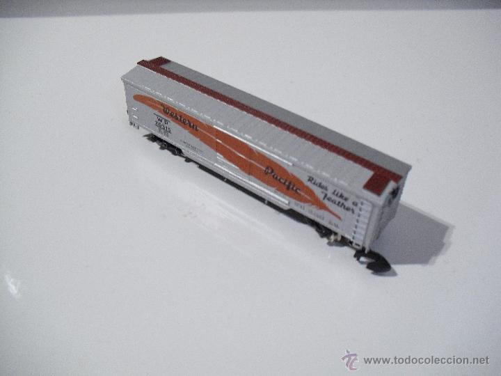 Trenes Escala: MARKLIN MINI-CLUB 8671 VAGON DE MERCANCIAS PACIFICO OCCIDENTAL (NUEVO) - Foto 3 - 39462978