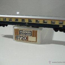 Trenes Escala: MINICLUB MARKLIN 8720,COCHE PASAJEROS 51 80 10-80 923-5, 1ª CLASE,DB, ESCALA Z. Lote 46910453