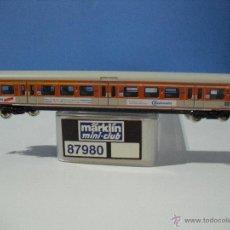Trenes Escala: MARKLIN Z, MINI-CLUB 87980, S-BAHN COCHE BAUKNECHT PUBLICIDAD. Lote 50258303