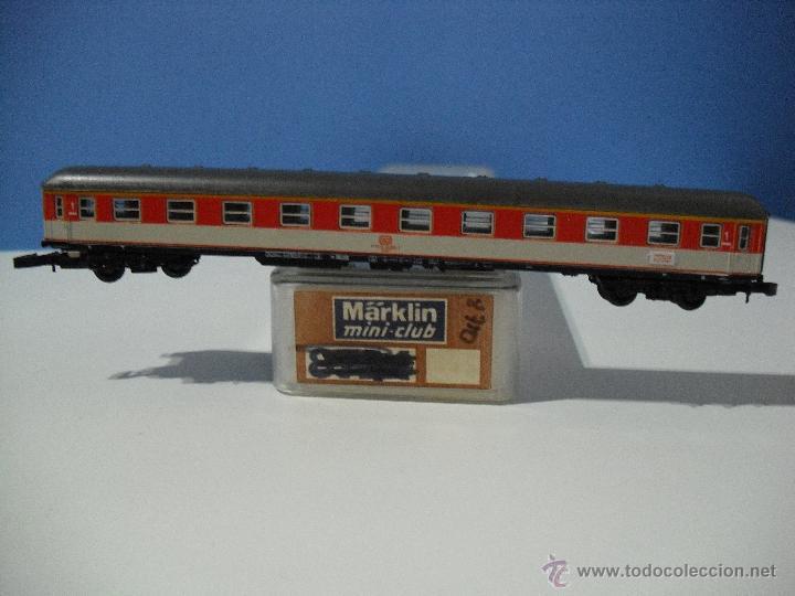 MARKLIN Z, MINI-CLUB,COCHE DE 1ª CLASE 51 80 10- 40 003-5 HAMBURG,MUNCHEN DE LA DB (Juguetes - Trenes a Escala Z)