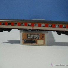Trenes Escala: MARKLIN Z, MINI-CLUB,COCHE DE 1ª CLASE 51 80 10- 40 003-5 HAMBURG,MUNCHEN DE LA DB. Lote 50258631