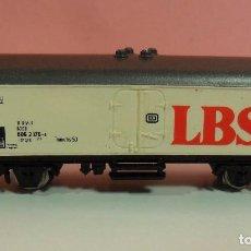 Trenes Escala: MARKLIN Z - VAGÓN REFRIGERADO LBS DE LA DB. Lote 70260405