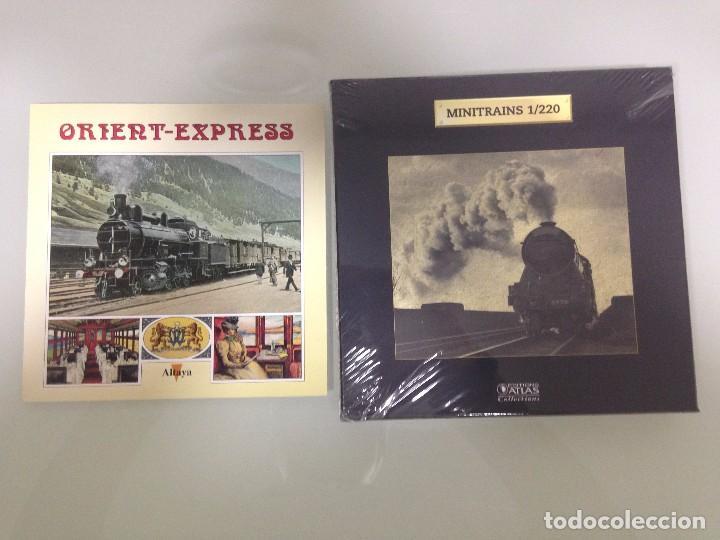 Trenes Escala: TREN,ORIENT ESPRESS,ESTUCHE COMPLETO Y NUEVO A ESTRENAR,COLECCION MINITRAINS, ALTAYA - Foto 2 - 95998987