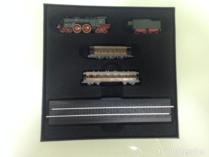 Trenes Escala: TREN,ORIENT ESPRESS,ESTUCHE COMPLETO Y NUEVO A ESTRENAR,COLECCION MINITRAINS, ALTAYA - Foto 4 - 95998987
