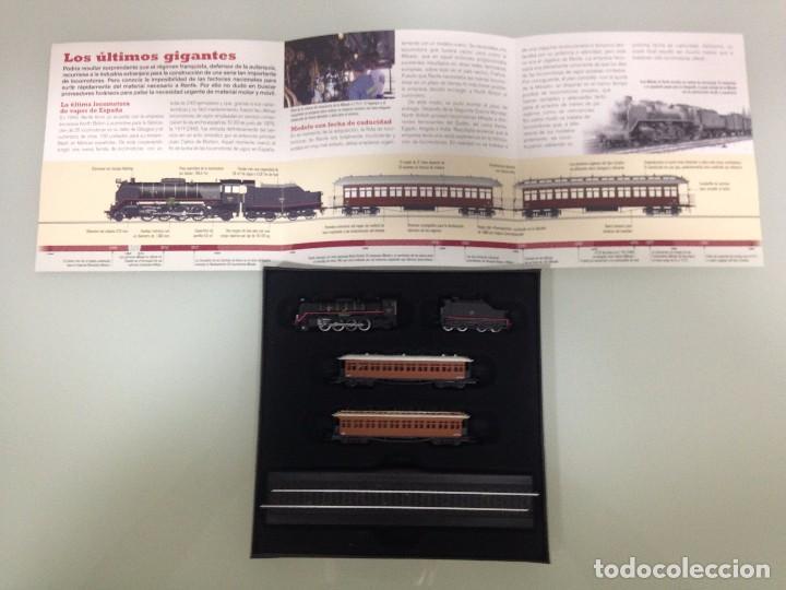 Trenes Escala: TREN,RENFE, MIKADO 141 ,ESTUCHE COMPLETO Y NUEVO A ESTRENAR,COLECCION MINITRAINS, ALTAYA - Foto 4 - 95999267