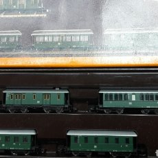 Trenes Escala: SET 4 COCHES PASAJEROS Z MARKLIN 8768. Lote 102013840