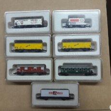 Trenes Escala: 7 VAGONES Z MARKLIN 8612,8622,8605,8700,8602 Y 8609. Lote 102014294