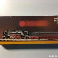 Trenes Escala: MARKLIN Z 8893 - LOCOMOTORA A VAPOR - BR18 478 - PINTADA EN MARRÓN. Lote 107296947