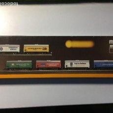 Trenes Escala: SET VAGONES CERVEZA - 8663 - MUNICH CERVECERÍAS DB, EN CAJA NUEVOS. Lote 107297095
