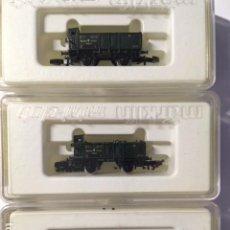 Trenes Escala: MARKLIN Z - 4 VAGONES MINEROS. Lote 108409771
