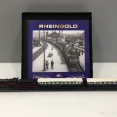 Trenes Escala: MINITRAINS ESCALA 1/220. RHEINGOLD. Lote 114574895