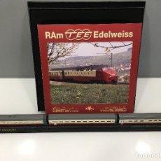 Trenes Escala: MINITRAINS ESCALA 1/220. RAM TEE EDELWEISS. Lote 114575763