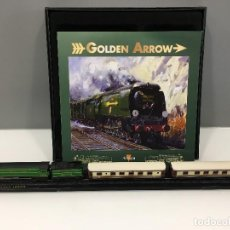 Trenes Escala: MINITRAINS ESCALA 1/220. GOLDEN ARROW. Lote 114576167