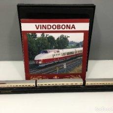 Trenes Escala: MINITRAINS ESCALA 1/220. VINDOBONA. Lote 114576555