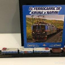 Trenes Escala: MINITRAINS ESCALA 1/220. EL FERROCARRIL DE KIRUNA A NARVIK. Lote 114576887