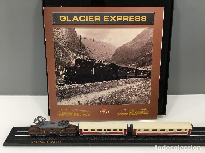 Trenes Escala: MINITRAINS ESCALA 1/220. GLACIER EXPRESS - Foto 2 - 114642283