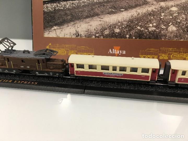 Trenes Escala: MINITRAINS ESCALA 1/220. GLACIER EXPRESS - Foto 4 - 114642283