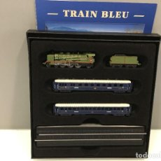 Trenes Escala: MINITRAINS ESCALA 1/220. TRAIN BLEU. Lote 129212096