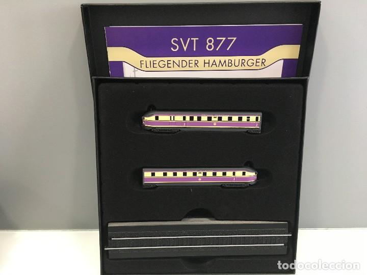 MINITRAINS ESCALA 1/220. SVT 877 FLIEGENDER HAMBURGER (Juguetes - Trenes a Escala Z)