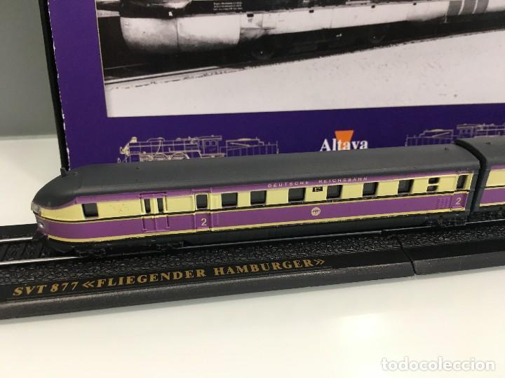 Trenes Escala: MINITRAINS ESCALA 1/220. SVT 877 FLIEGENDER HAMBURGER - Foto 3 - 114921159