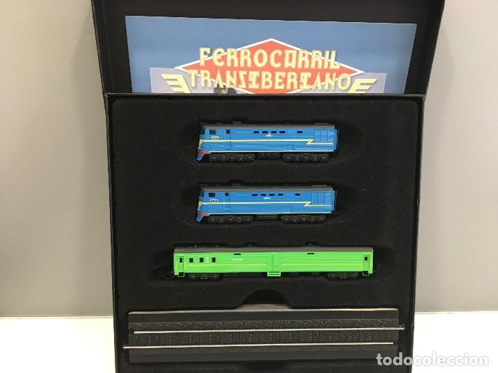 MINITRAINS ESCALA 1/220. FERROCARRIL TRANSIBERIANO (Juguetes - Trenes a Escala Z)