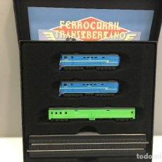 Trenes Escala: MINITRAINS ESCALA 1/220. FERROCARRIL TRANSIBERIANO. Lote 114921619