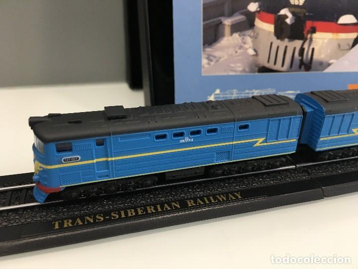 Trenes Escala: MINITRAINS ESCALA 1/220. FERROCARRIL TRANSIBERIANO - Foto 3 - 114921619