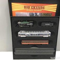 Trenes Escala: MINITRAINS ESCALA 1/220. RIO GRANDE SCENIC RAILROAD. Lote 114922675