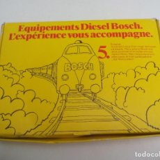 Trenes Escala: BOSCH DIESEL EQUIPMENT. Nº 5. TERMINUS. 6 VOLT. TRANSFORMADOR O ALIMENTADOR PARA TRENES ESCALA Z. Lote 121623099