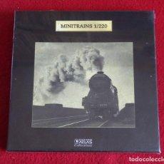 Trenes Escala: MINITRAINS 1/220 EDITIONS ATLAS REF. 7 165 101 PRECINTADO. Lote 122964227