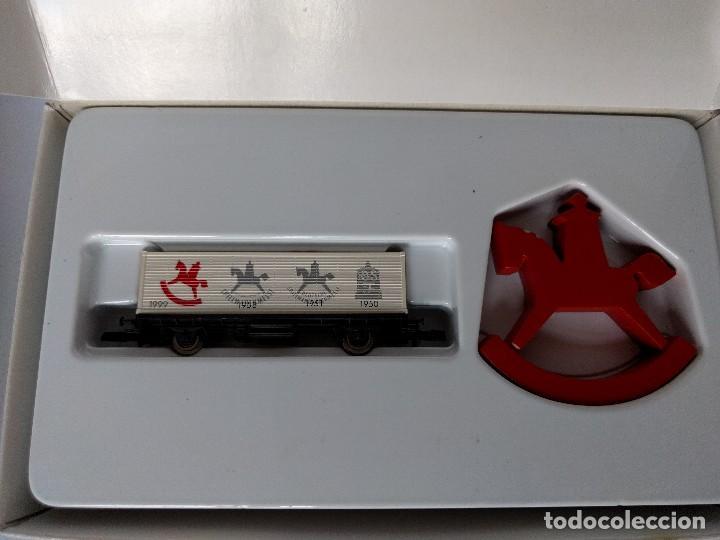 Trenes Escala: Märklin escala Z, ediciones conmemorativas, conjunto de vagones de mercancías - Foto 2 - 123131723