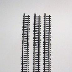 Trenes Escala: MARKLIN MINI-CLUB 3 VÍAS RECTAS AJUSTABLES DE 100MM A 120MM REFERENCIA 8592. Lote 127747119