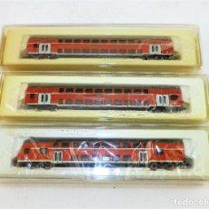 Trenes Escala: MARKLIN MINI CLUB 87291-87292 Y 87293 ESCALA Z. Lote 128276187